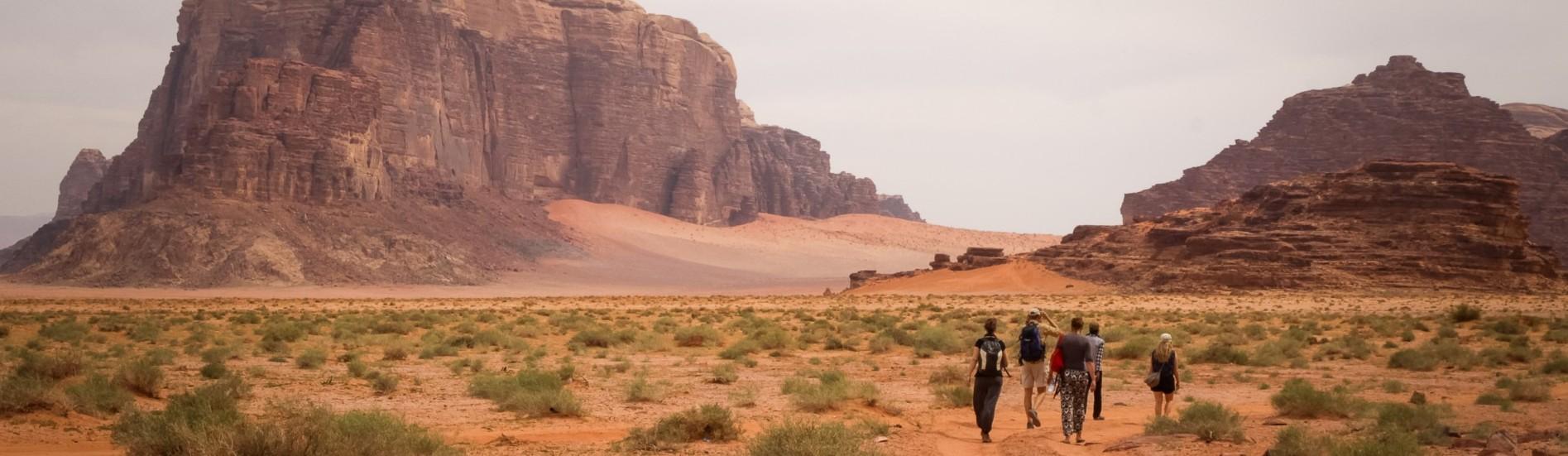 Workshop Mindfulness in Jordanie; Petra, Dana, Wadi Rum woestijn
